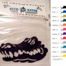 Gator Vinyl Decal 2 pack Black