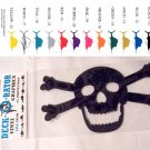 Jolly Roger Vinyl Decal 2 Pack Black