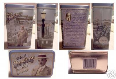 NEW 1996 Hershey Building a Legacy Canister Series 2