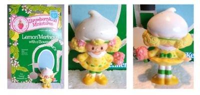 Lemon Meringue with a Bouquet Miniature