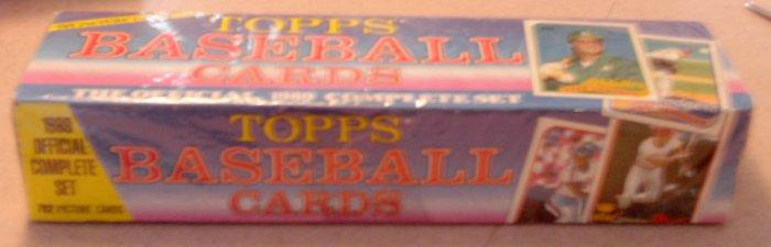1989 Topps Baseball Cards Factory Set SEALED Johnson