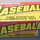 1991 Topps Baseball Cards Factory Set SEALED Chipper