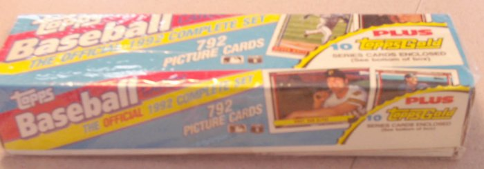 1992 Topps Baseball Cards Factory Set SEALED Ramirez