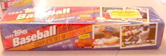 1993 Topps Baseball Cards Complete Set SEALED Jeter