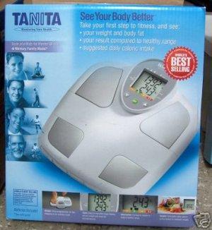 Tanita BF-555 Scale plus Body Fat Monitor NEW in Box