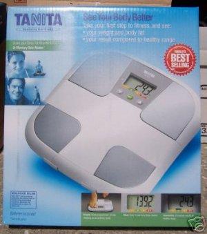 Tanita BF-625 Scale plus Body Fat Monitor NEW in Box