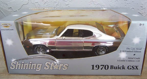 ERTL American Muscle Shining Stars 1970 Buick GSX 1:18 NEW