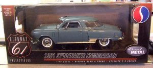 NEW Highway 61 1951 Studebaker Commander 1:18 scale diecast