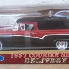 Road Legends 1957 Ford Courier Sedan 1:18 Black/Red NEW