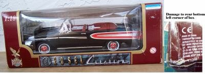 Road Legends 1958 Edsel Citation Black/Red NEW in Box