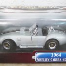 Road Signature 1964 Silver Shelby Cobra 427S/C 1:18 NEW