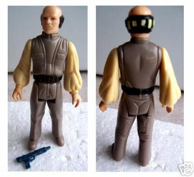 Vintage Lobot (Lando's Aide) Figure