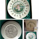 Royal Doulton Kate Grenaway Almanack Plate Pisces MIB