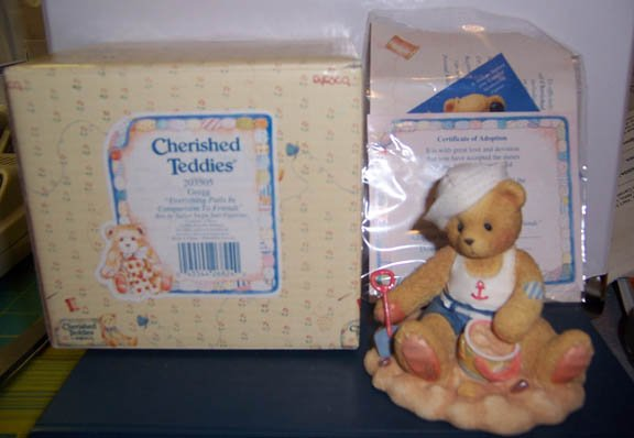 Cherished Teddies #203505 Gregg NEW in Box