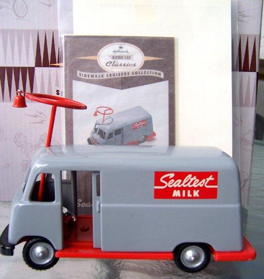 KCC 1960s Sealtest Milk Truck Sidewalk Cruisers MIB