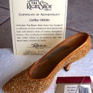 Just the Right Shoe 25045 Golden Stiletto Mint NEW