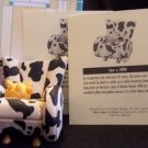 Take a Seat by Raine Cow #24020 NEW in Box