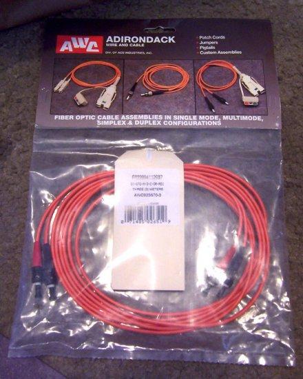 New Adirondack Fiber Optic Cable #AWC923670-3