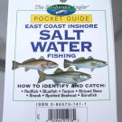 Pocket Guide East Coast Inshore Salt Water Fishing NEW