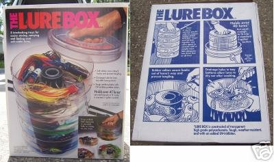 The Lure Box - 5 interlocking trays NEW in Box