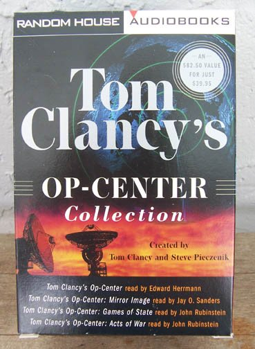 Op-Center Collection by Tom Clancy 12 Cassettes 1998