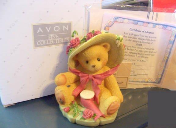 Avon Collectible Cherished Teddies  #336521 Janet