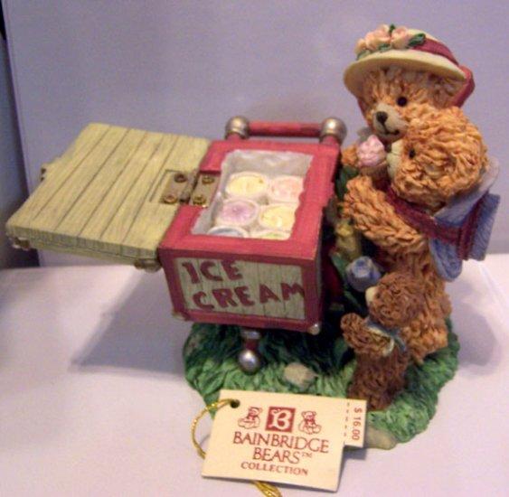 "Bainbridge Bears ""Sweet Treat Time"" Figurine with tag"