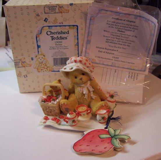Cherished Teddies #156302 Thelma