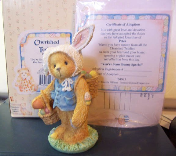 Cherised Teddies #104973 Peter