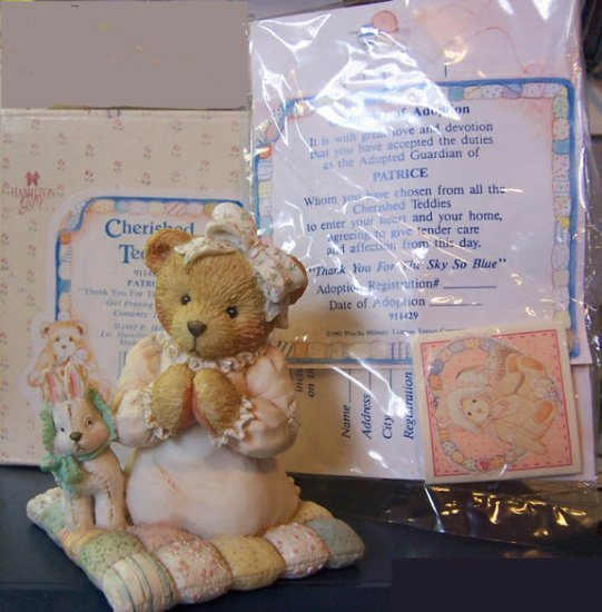 Cherished Teddies #911429 Patrice