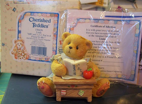 Cherished Teddies #156426 Linda