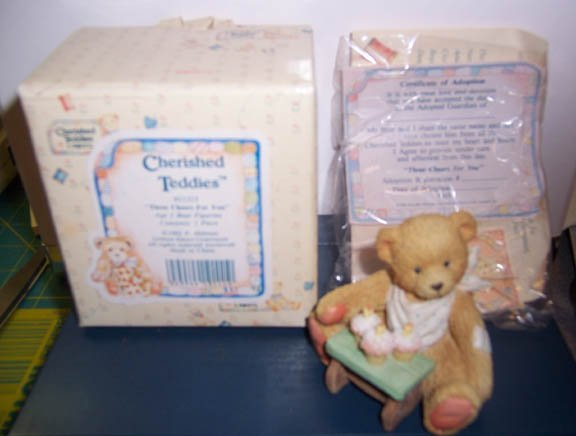 Cherished Teddies #911313 Age 3 Bear