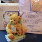 "Cherished Teddies #911283 ""Chalking Up six Wishes"" bear 5HH6/530"