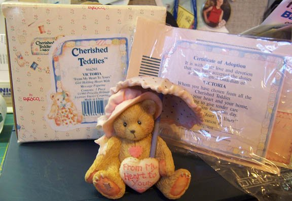 Cherished Teddies #916293 Victoria