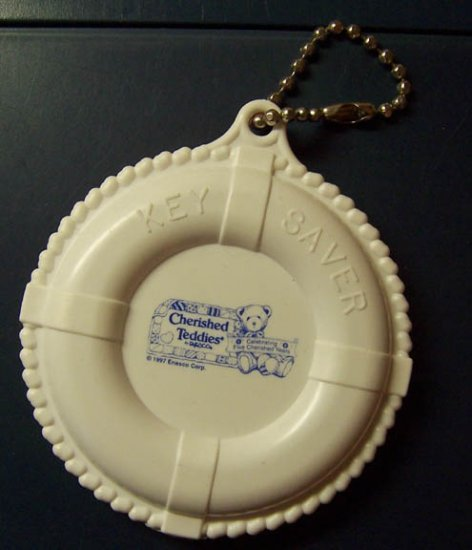 "Cherished Teddies 5 Cherished Years ""Key Saver"" Key Chain"