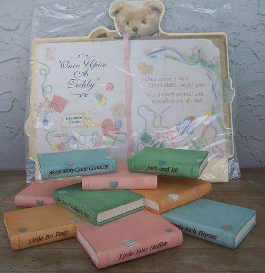 Cherished Teddies Nursery Rhyme Display shelf CRT013