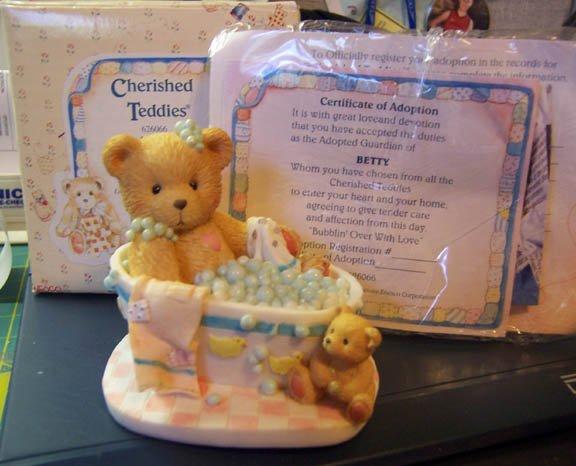 Cherished Teddies #626066 Betty