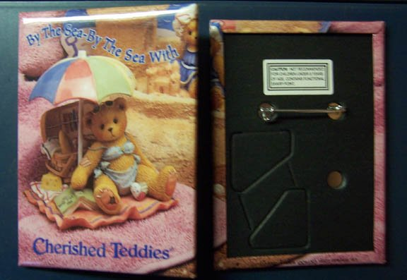 """""""By the Sea-By the Sea With Cherished Teddies"""" Pin"""