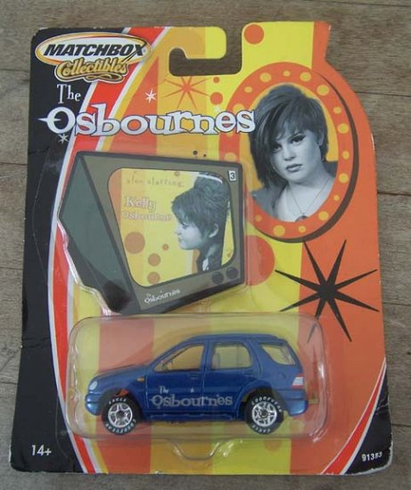 """""""The Osbournes"""" Matchbox Collectibles Kelly's Mercedes SUV"""