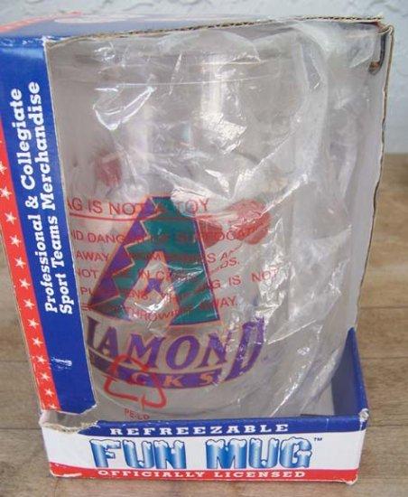 Arizona Diamondbacks refreezable Fun Mug NEW in packaging