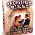 Shoe String Wedding