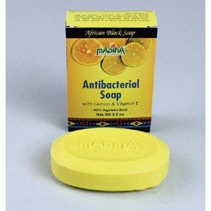 Antibacterial African Black Soap - 3½ oz  (M-S222)