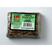 100% Natural Black Soap Mango    (M-S484)