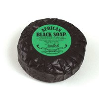 Pure African Black Soap 2.8 oz.(M-S221)