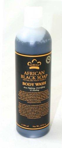 African Black Soap Body Wash - 13 oz. (M-537)