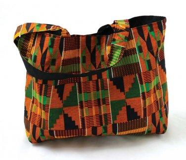 Kente Tote Bag: Style #2    (C-A826)