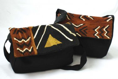 Small Mud Cloth Tote Bag  (C-A004)