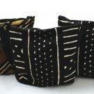 Mud Cloth Zipper Tote Bag   (C-A008)