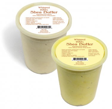 Whipped Shea Butter - 32 oz. (M-218) (yellow or white)