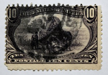 .2 U.S. Cat. # 290 - 1898 10¢ Trans-Mississippi Exposition